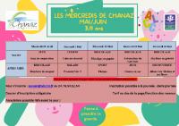 LES MERCREDIS DE CHANAZ MAI_JUIN 3_11 ans