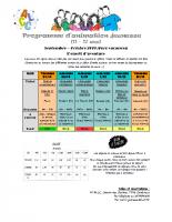 Programme septembre octobre 2019