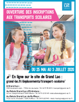 Affiche Transport scolaire