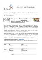 Info pass loisirs Motz rentrée 2021