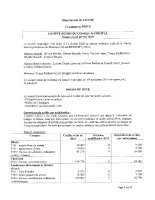 Compte-Rendu du conseil municipal du 13 février 2020