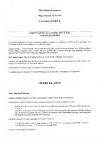 Compte rendu du conseil municipal du 13 avril 2021