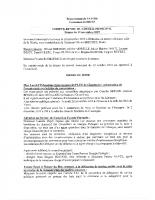 Compte-rendu du conseil municipal du 19 novembre 2019