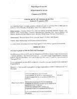 Compte rendu du conseil municipal du 21 septembre 2020