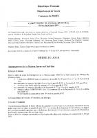 Compte rendu du conseil municipal du 26 mars 2021