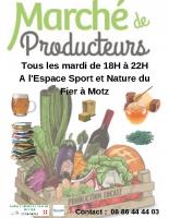 Affiche marché des producteurs
