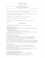 Compte Rendu du Conseil Municipal du 05-06-2019