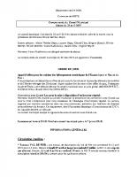 Compte Rendu du Conseil Municipal du 23-04-19