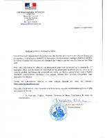 courrier Consul Général de France à Genève