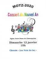 Affiche Concert du Nouvel An