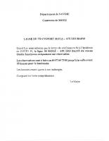 ONDÉA Ligne 30 MOTZ AIX-LES-BAINS