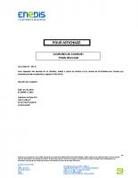 Affiche coupure éléctricité Châteaufort