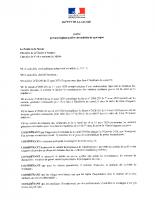 Arrêté portant réglementation des activités de montagne 10.05.2020