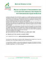 Avis Consultation Savoie