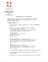 Inscription école rentrée 2020-2021