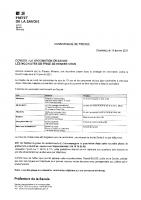 CP – Plateforme vaccination en Savoie