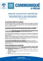 Centre de vaccination-Aix-12 janvier 21
