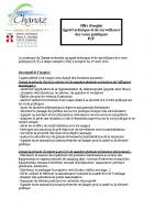 Offre d'emploi permanent ASVP-ST 01.04.21
